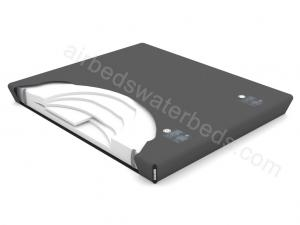 Ultra-waveless softside waterbed mattress